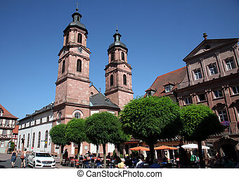 iglesia s. mermeladas, en, miltenberg, alemania