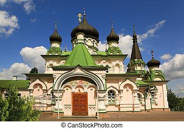 iglesia, ucrania, kiev, ortodoxo