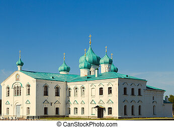 iglesias, de, el, transfiguration, s., alexander, de, svir, monasterio