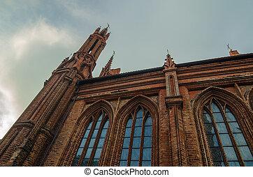 iglesias, en, vilnius, lituania