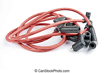 ignition cables kit - ignition cable set for four-cylinder...