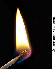 ignition of a match