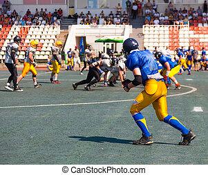 igraischie team at the stadium