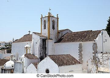 Igreja de Santiago (Santiago church) in Tavira, Portugal