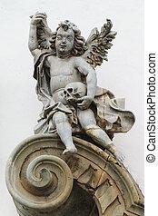 Igreja de Sao Francisco de Assis - Architecural detail on...