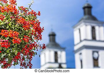 igreja, de, st., alexander, em, suwalki., polônia