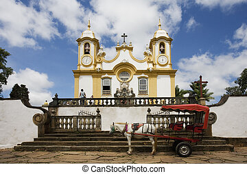 Tiradentes - Igreja Matriz de Santo Ant�nio located in...