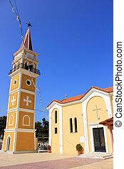 igreja, principal, argassi, vila