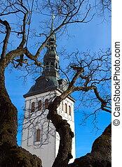 igreja, tallinn, niguliste