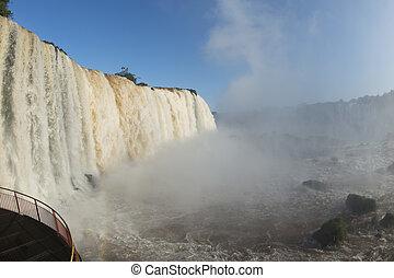 Iguacu fall in Brazil