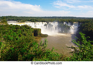 Iguacu panorama