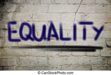 igualdad, concepto