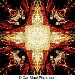 iguana abstract 2