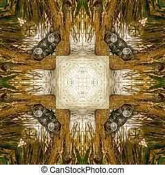 iguana abstract 3