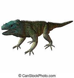 Iguana Blue - 3D Animal