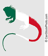iguana, méxico