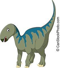 iguanodon, karikatur