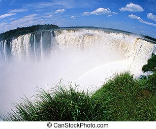 Iguassu falls, South America