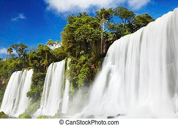 Iguassu Falls, view from Argentinian side