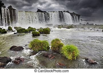 Iguassu Falls, view from Brazilian side