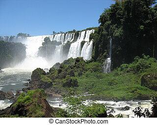iguazu cade, brasile, sud america