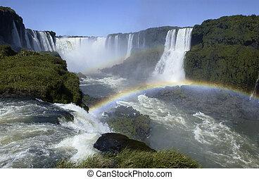 Iguazu Falls - Brazil - Argentine border
