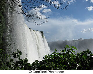 Iguazu Falls from Brazil side
