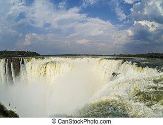 Iguazu Falls in Argentina