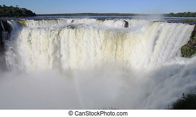 Iguazu Waterfalls time lapse - Devil's Throat (Garganta del...