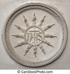 ihs, シンボル, christogram