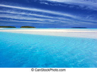 ii, トルコ石, 礁湖