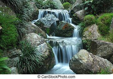 ii, chute eau