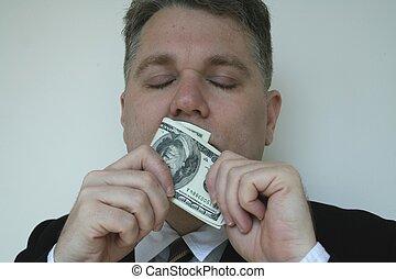 ii, dinheiro, cheiro
