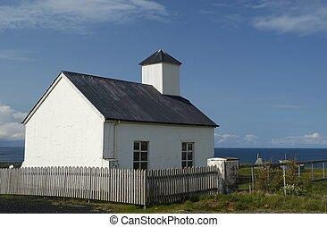 ii, islandais, église