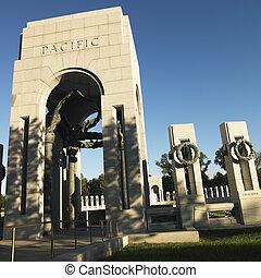 ii, mundo, guerra, memorial.