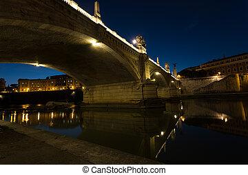 ii, nightshot, puente, vittorrio, emanuele
