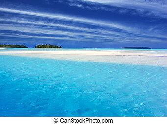 ii, türkis, lagune