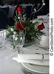 iii, banquete, formal
