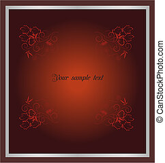 IInvitation card for holiday or engaged party