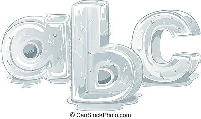 ijs, kleine, brieven