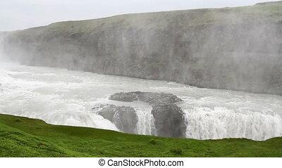 ijsland, watervallen