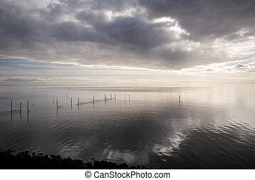 ijssel lake in the netherlands