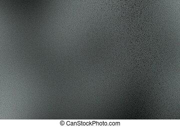 ijzer, abstract, donkere achtergrond, geborstelde, textuur