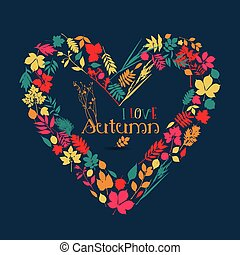ik, liefde, autumn.
