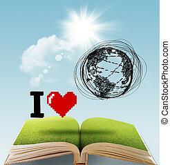 ik, liefde, de aarde