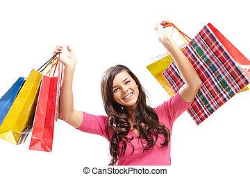 ik, liefde, shoppen