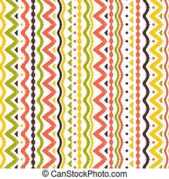 Ikat geometric folklore pattern. Ethnic folk ornament...
