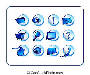 ikon, állhatatos, noha, nyiradék út, -, kék