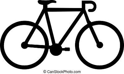ikon, bicikli fut