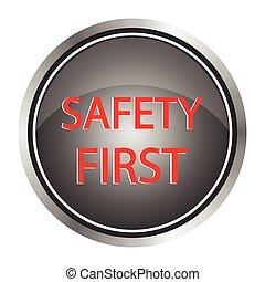 ikon, biztonság, először